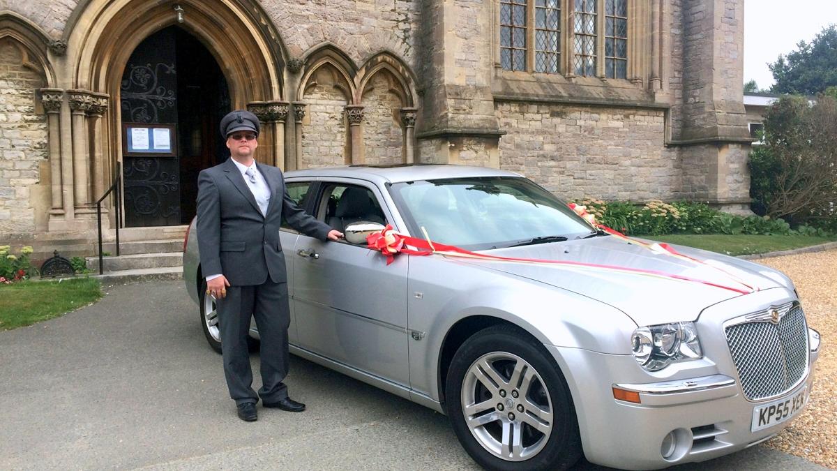 chauffeur for a wedding