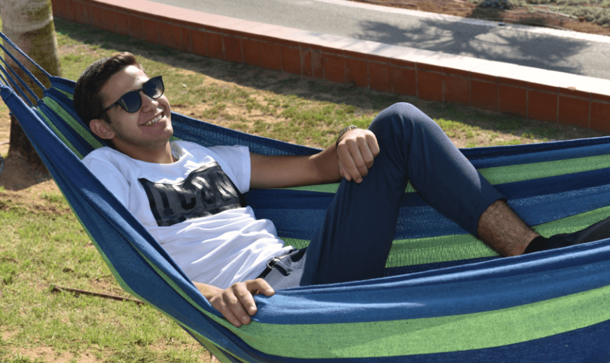 How hammocks provide relaxation during camping?