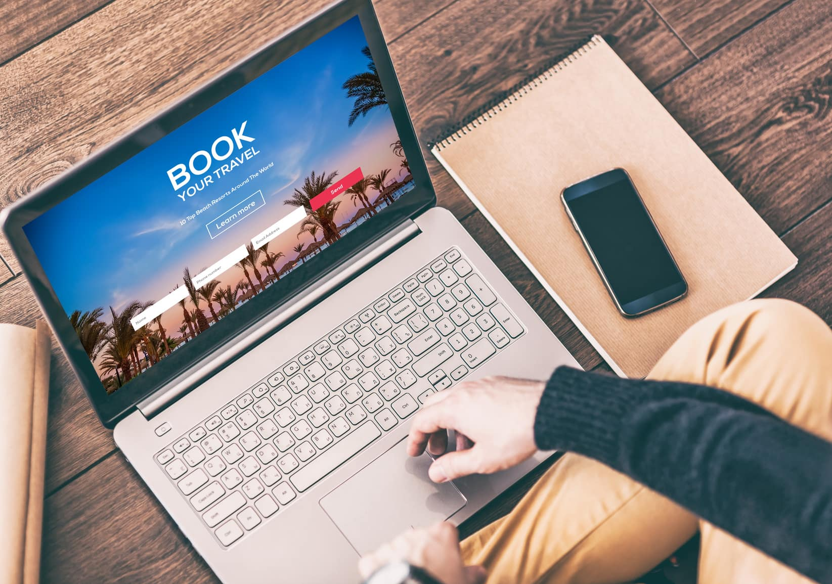 What are the benefits of direct online hotel booking?